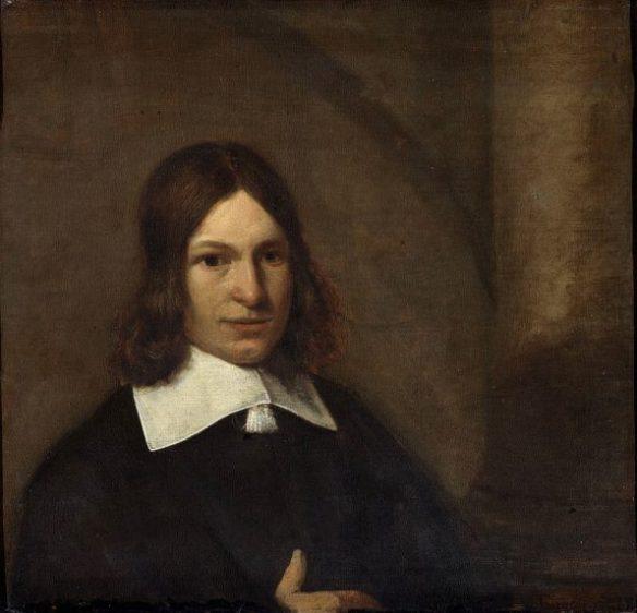 Питер де Хох. Автопортрет.