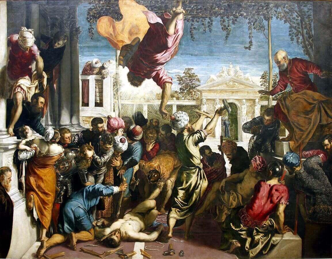 Тинторетто чудо святого Марка