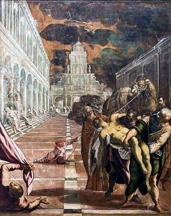 Тинторетто Похищение тела святого марка