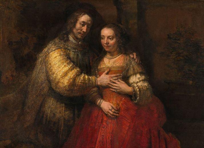 Еврейская невеста рембрандт