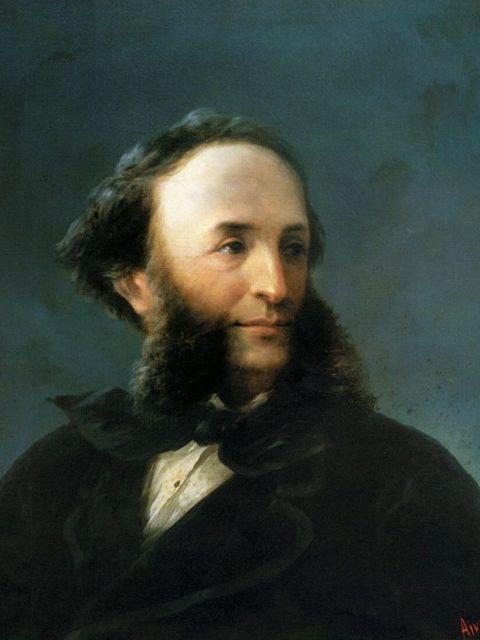 Айвазовский автопортрет 1874 год