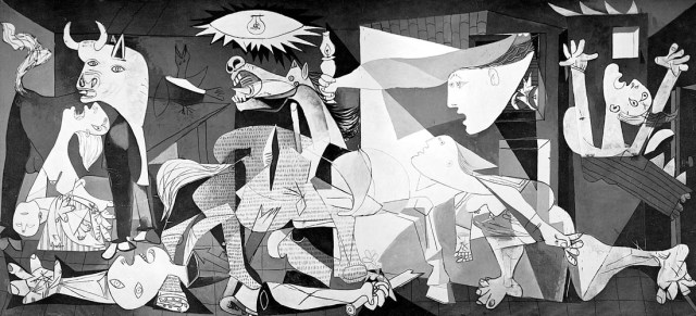 Пикассо Герника
