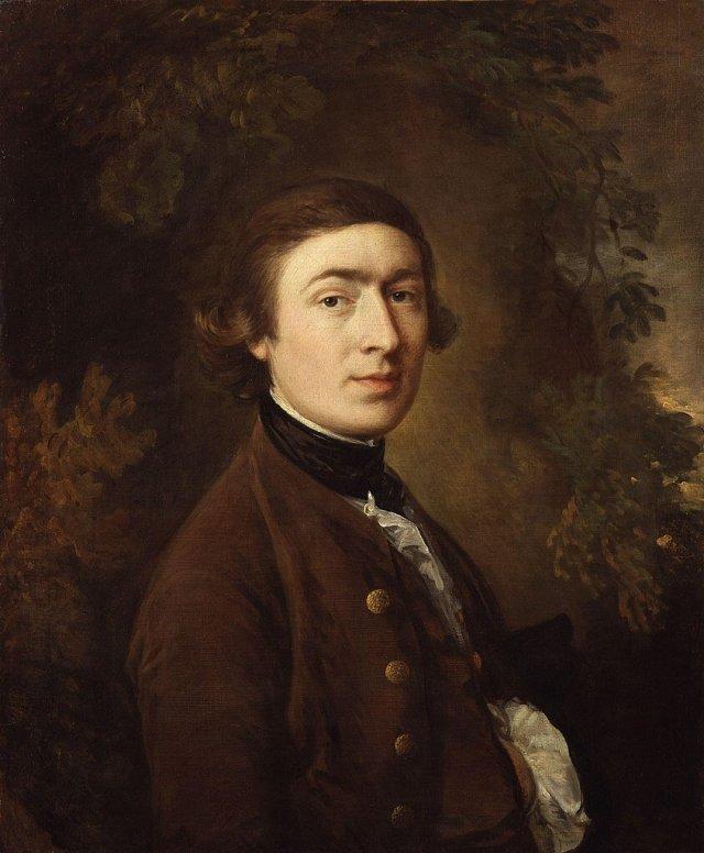 Гейнсборо автопортрет 1758
