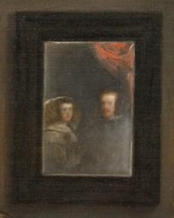 Веласкес менины зеркало