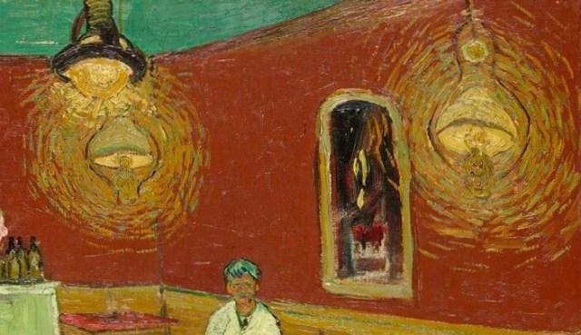 Ван Гог ночное кафе фрагмент