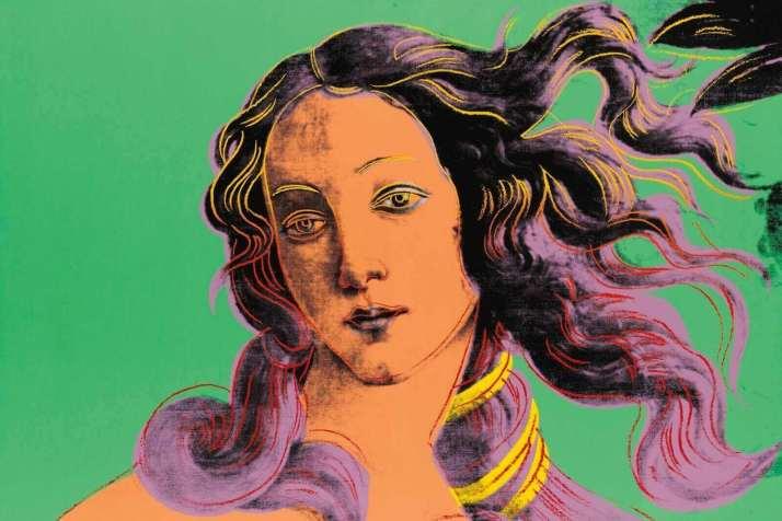 Уорхол Венера Боттичелли