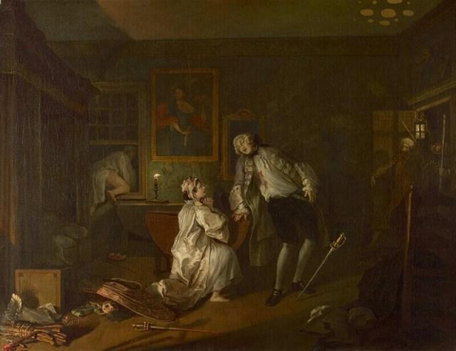 Хогарт дуэль и смерть графа