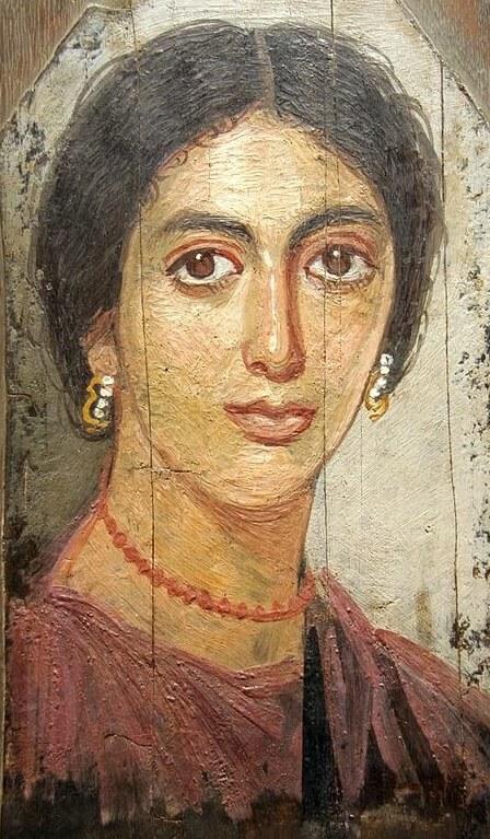 Фаюмский портрет женщины