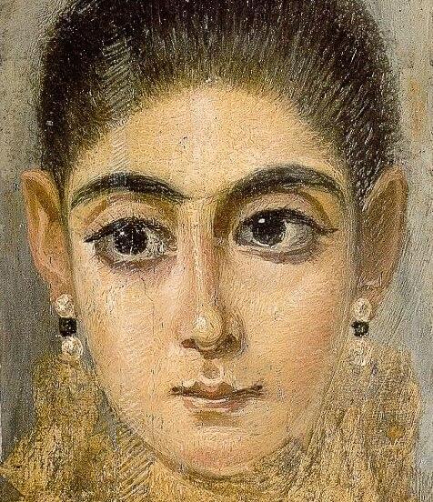 Фаюмский портрет молодой женщины лувр
