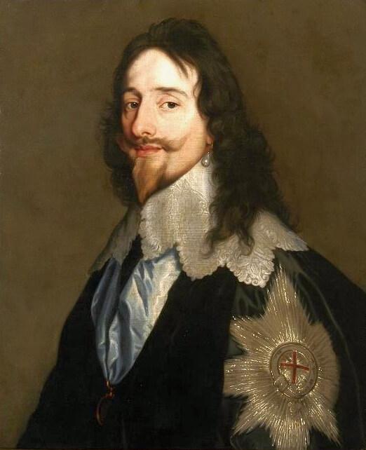 Ван Дейк. Карл I 1638