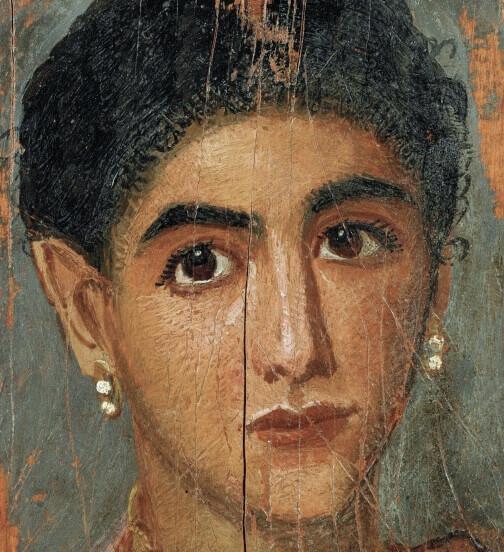 Фаюмский портрет девушки лувр