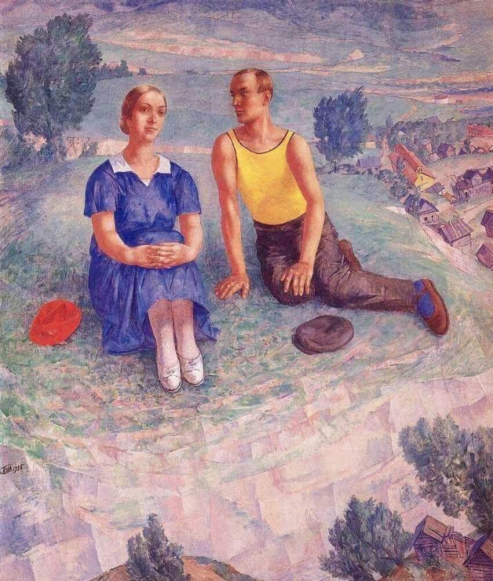 Петров-Водкин весна