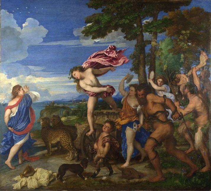 Тициан Вакх и Ариадна