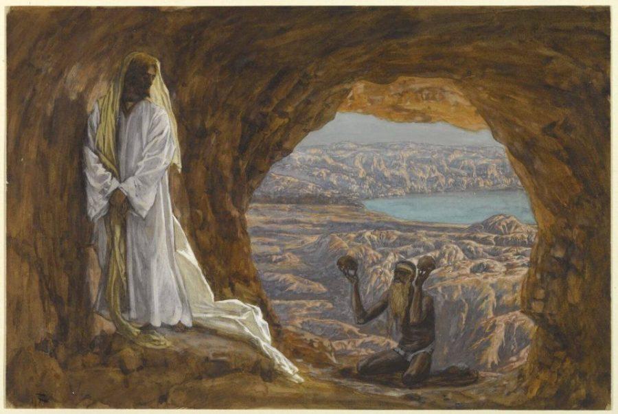 Тиссо искушение Христа