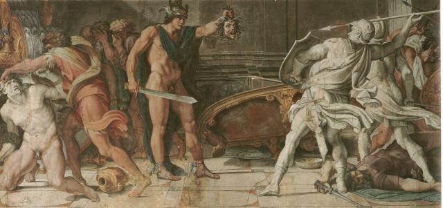 Карраччи Персей и Финей