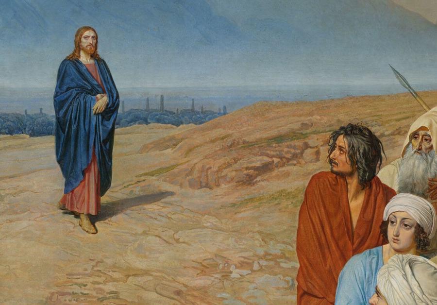 Иванов явление Христа народу деталь