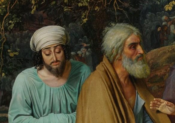 Деталь Явление Христа народу апостолы