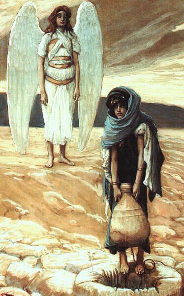 Джеймс Тиссо. Опека ангела. 1886—1894. Бруклинский музей.