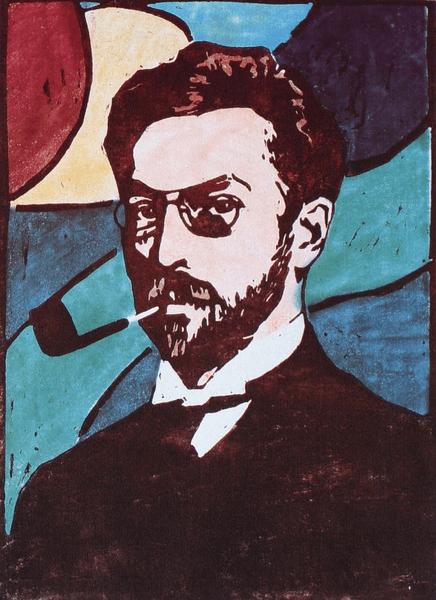 Мюнтер портрет Кандинского