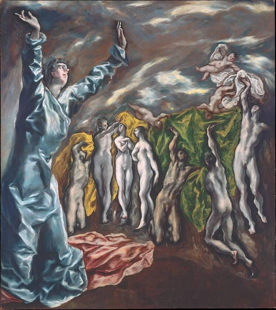 Эль Греко. Снятие пятой печати
