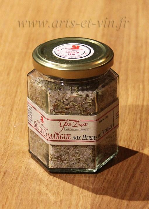 Pot Sel de Camargue aux herbes de Provence
