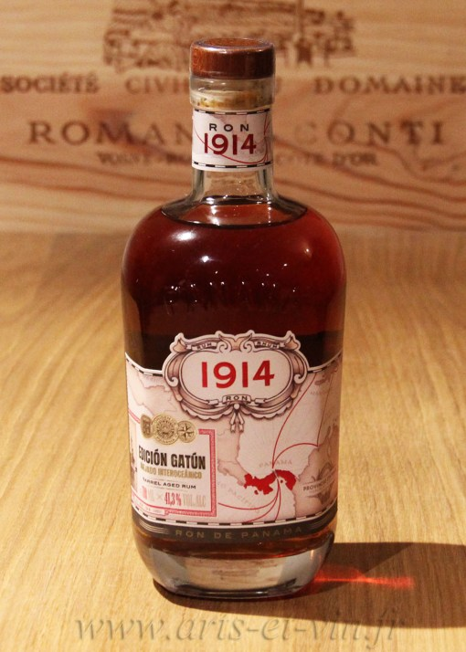 Bouteille Rhum Ron 1914 Panama