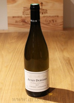 Bouteille Auxey Duresses Blanc Vincent Girardin