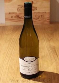 Bouteille Montagny 1er Cru Selection Vieilles Vignes Domaine Aladame
