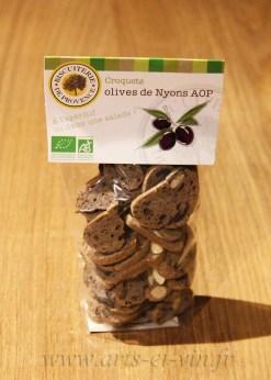 Paquet de Croquets de Provence BIO – Olives de Nyons AOP