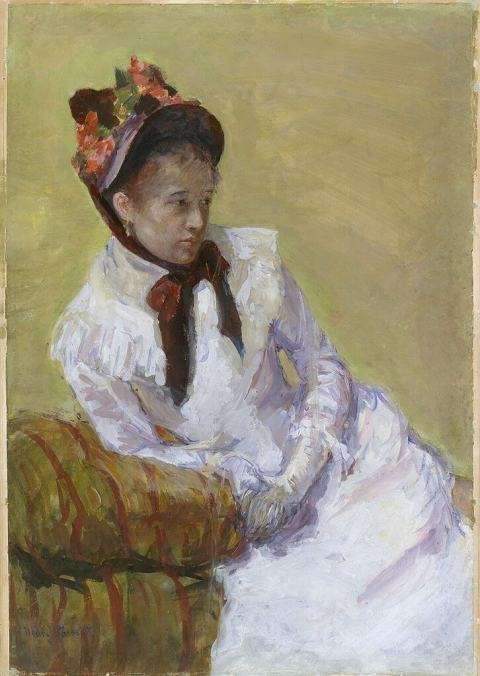 Cassatt. Self portrait