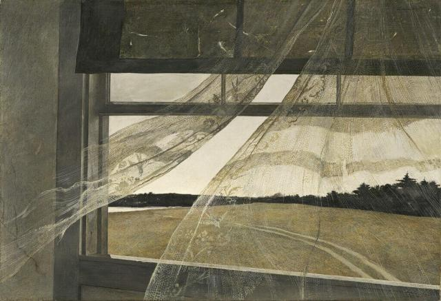 Andrew Wyeth. Wind From the Sea. 1947.