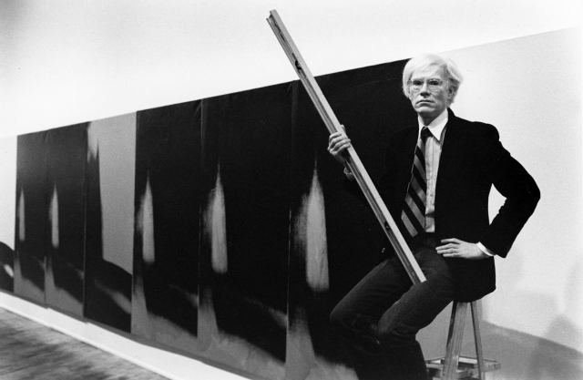 Andy Warhol. 1979. Photo by Arthur Tress