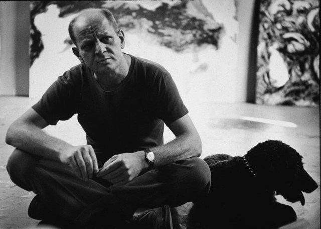 Jackson Pollock. 1950. Photo by Hans Namut