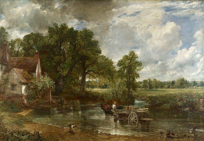 John Constable. The Hay Wain. 1821.