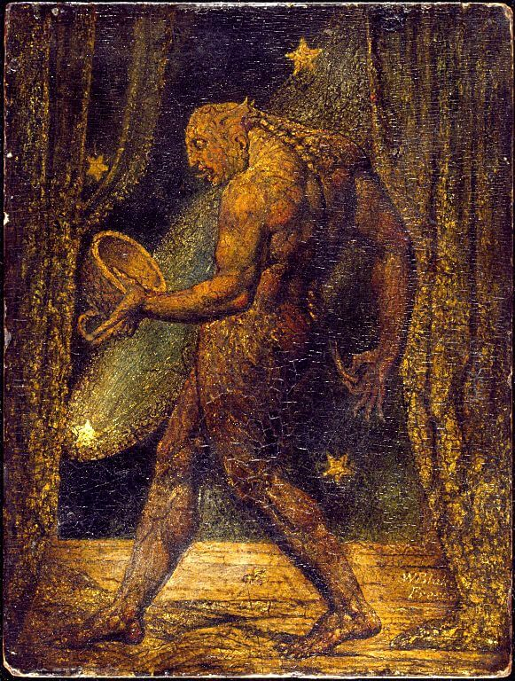 William Blake. Ghost of a Flea. 1819