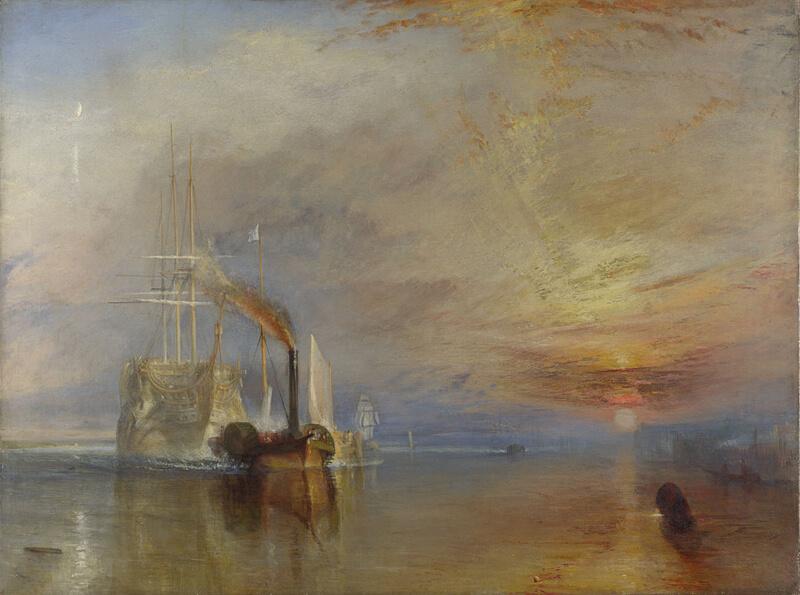 "William Turner. Last voyage of the Frigate ""Brave"". 1838."