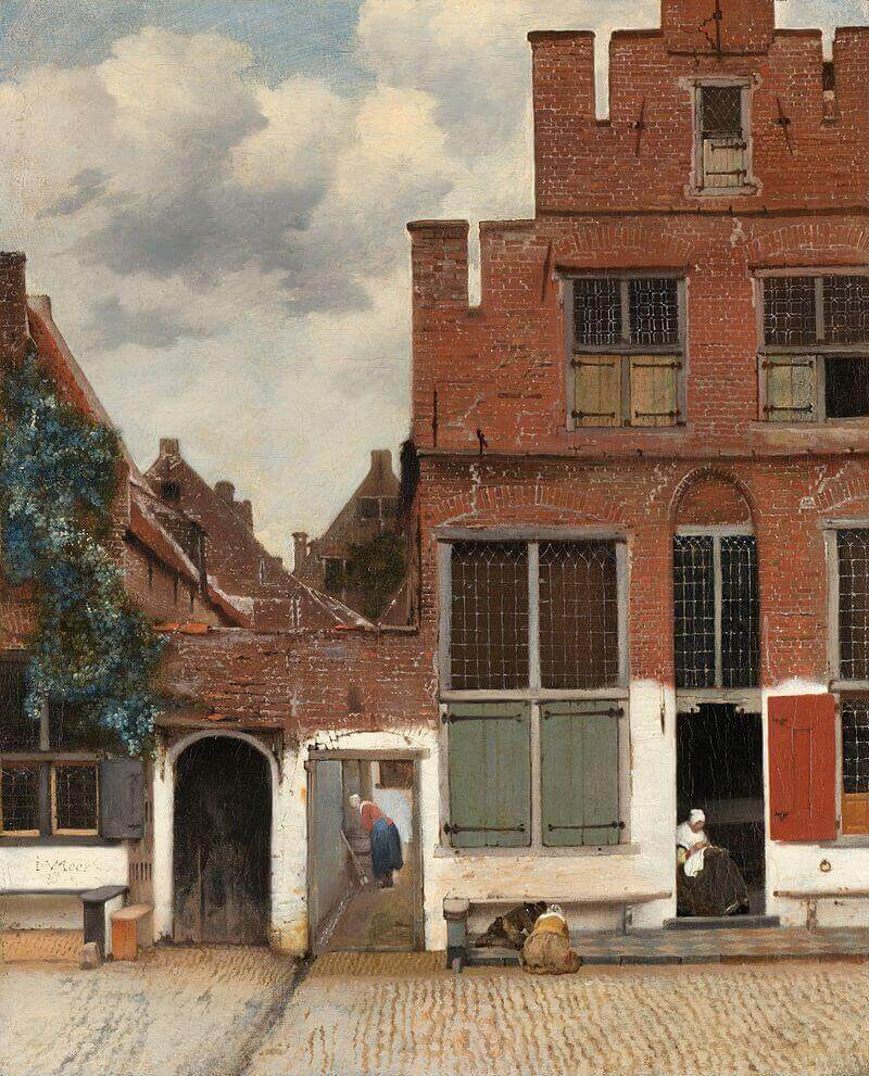 "Vermeer ""The little street"""