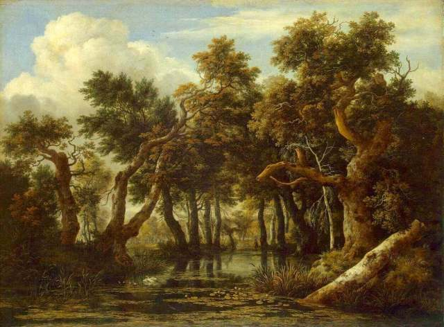 "Ruysdael ""The Marsh"""