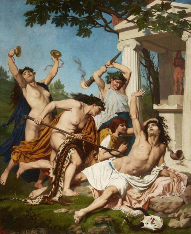 Emile Ben the death of Orpheus
