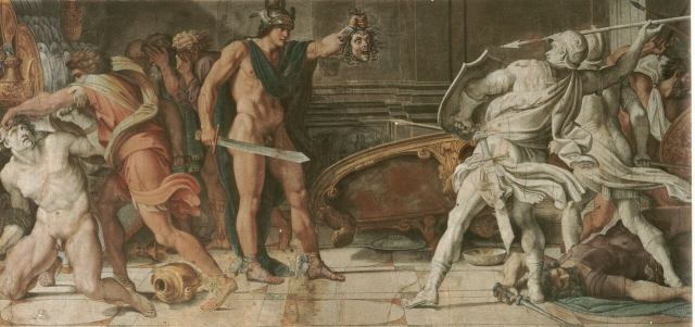 Carracci. Perseus and Phineus