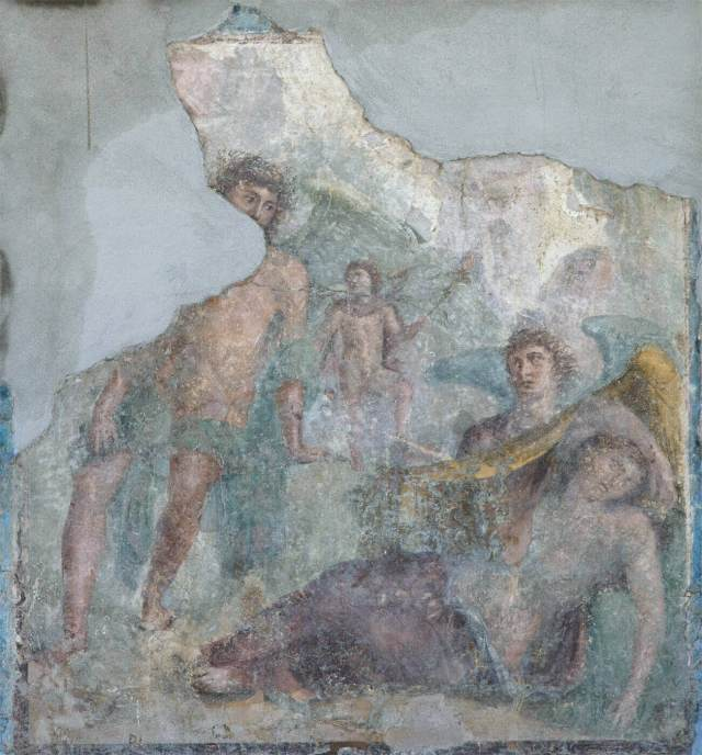 A fresco in Stabiae