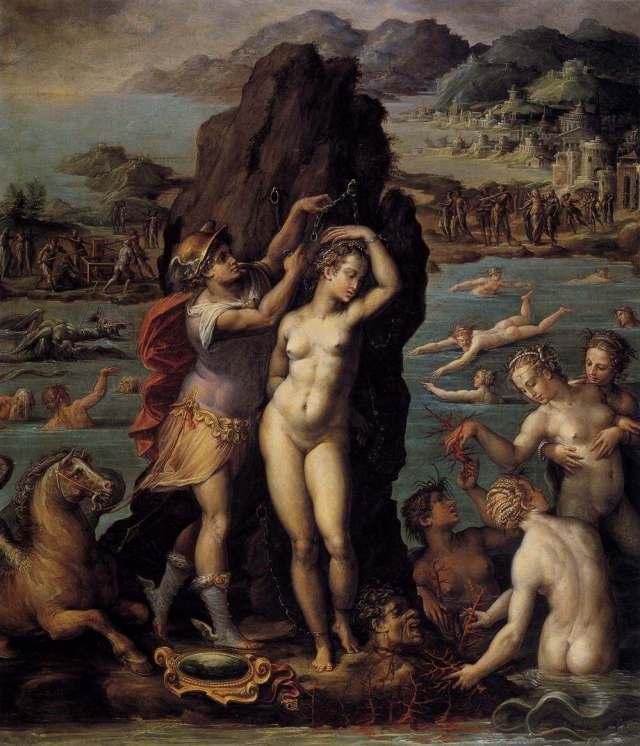 Vasari. Perseus and Andromeda