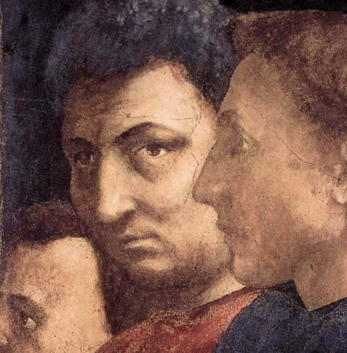 Masaccio. Self-portrait