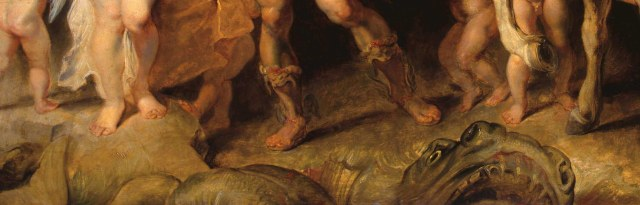 Rubens. Perseus and Andromeda (a detail)