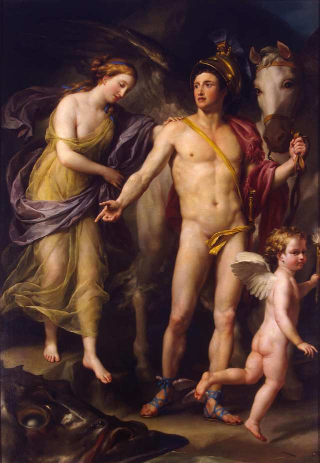 Mengs Perseus and Andromeda