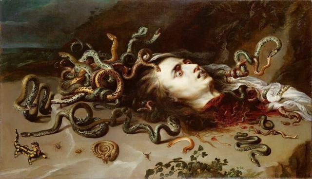 Rubens. The head of Medusa