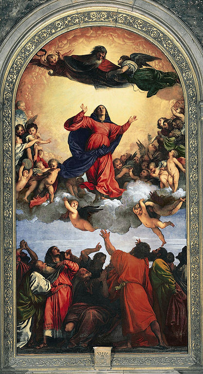 Titian. Assumption of Mary