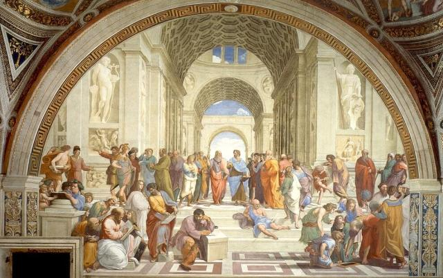 Raphael. The School of Athens