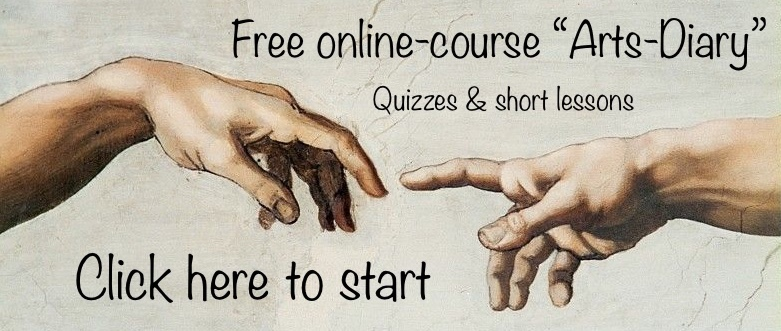 Online course button