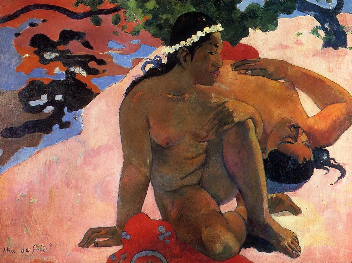 Gauguin. Are you jealous?